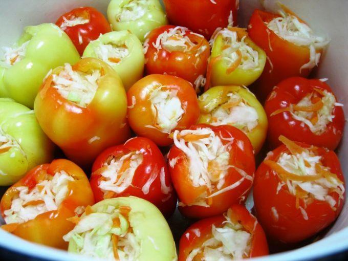 менее перец фаршированный овощами на зиму рецепты ювелирные