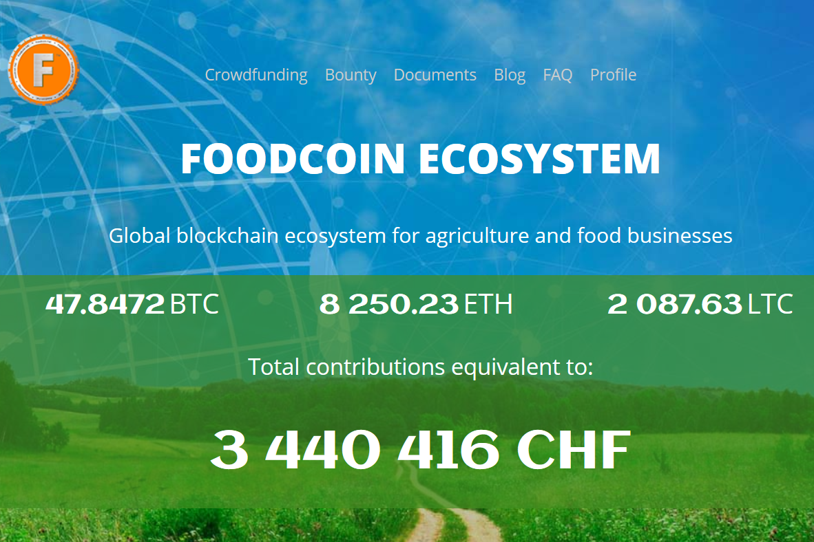 1000EcoFarms Launches Partnership with FoodCoin