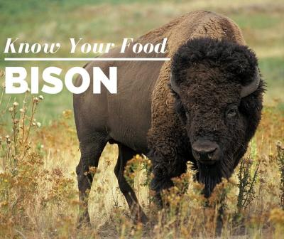 Know Your Food: Bison Meat