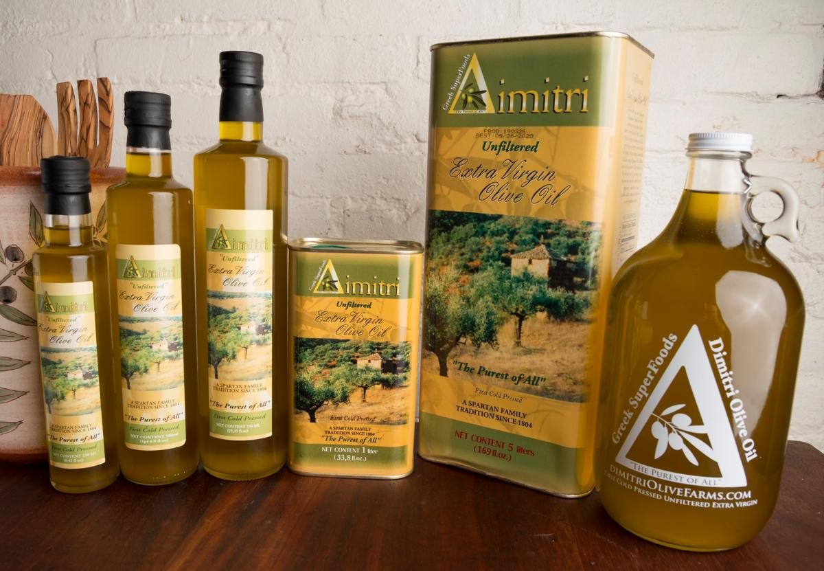 Source: Dimitri Olive Oil