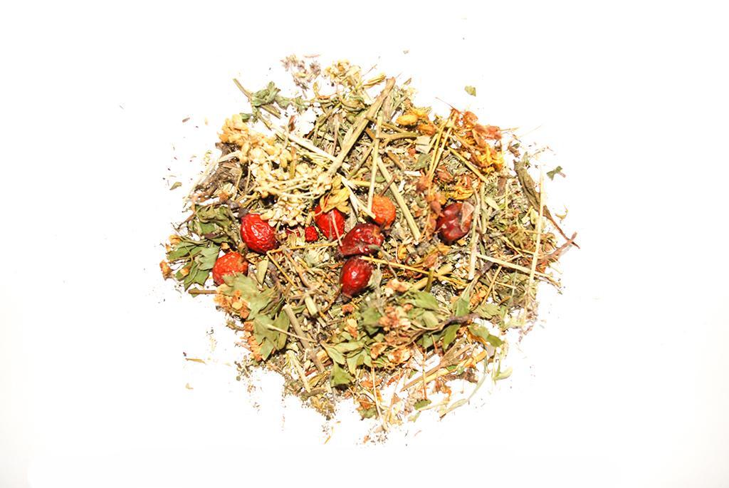 Чабрец ромашка шиповник чай