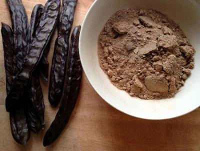 Local carob powder