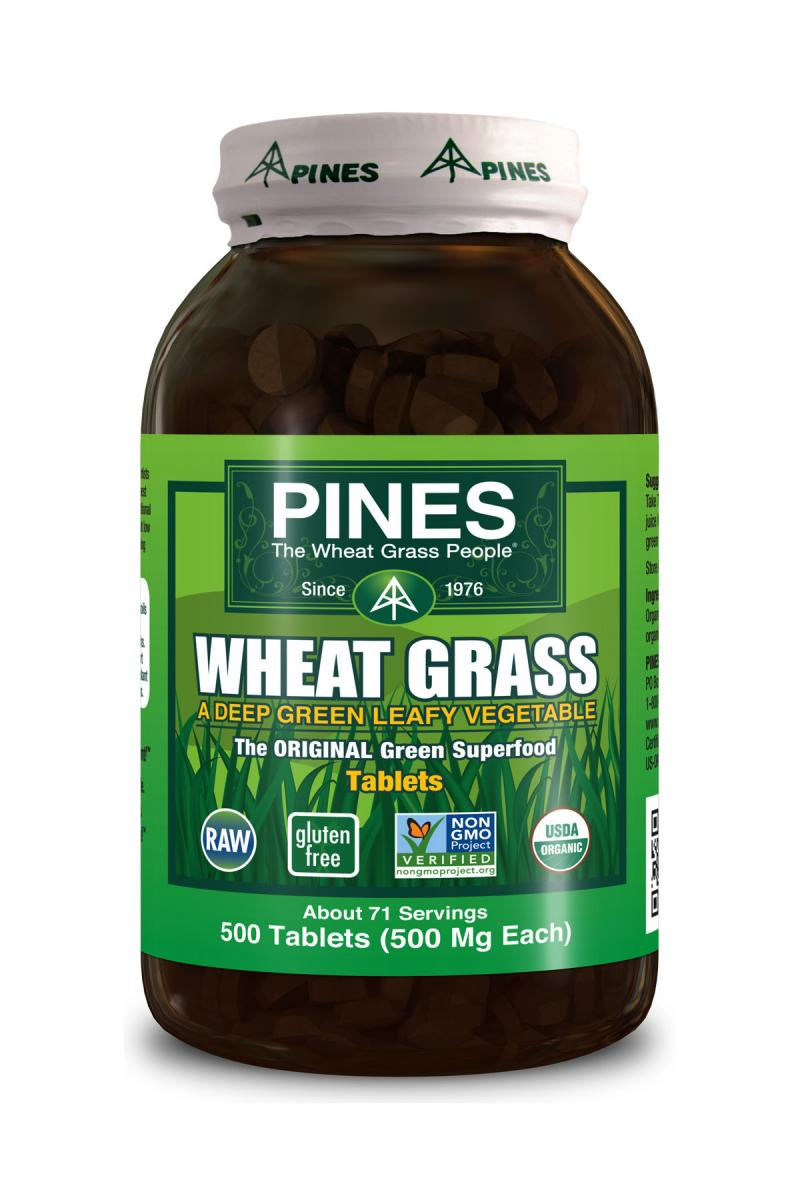 Wheat Grass Tablet 500 ct.