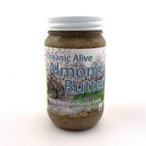 Almond Butter 16oz – Alive & Organic