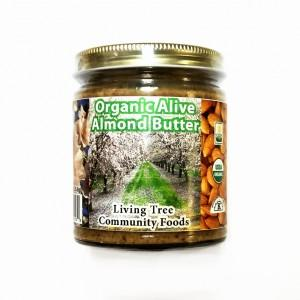 Almond Butter 8oz – Alive & Organic