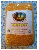 Certified Organic Golden Wheat Bran