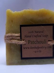 100% Natural Patchouli Face and Body Soap