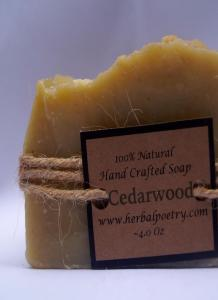 100% Natural Cedarwood Face and Body Soap. Multiple product options available: 3