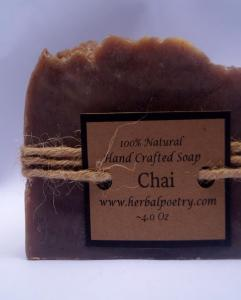 100% Natural Chai Face and Body Soap