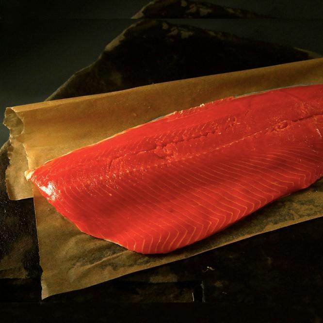 Whole Fillet Sockeye Salmon