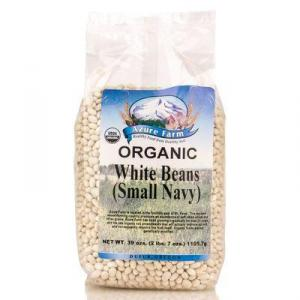 Small Navy White Beans, Organic - BE050