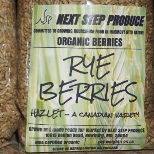 Rye Berries--Whole. Multiple product options available: 5