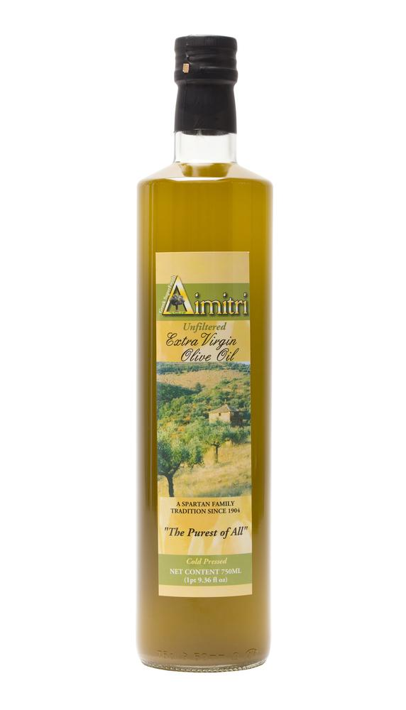 Dimitri Unfiltered Extra Virgin Olive Oil