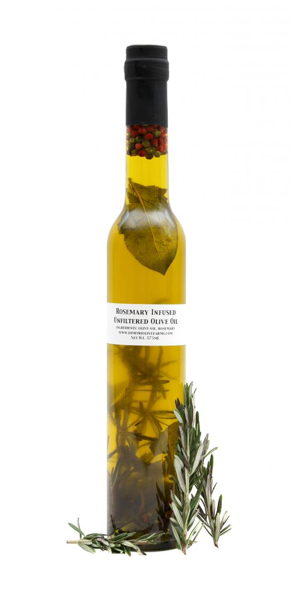 Dimitri Unfiltered Extra Virgin Olive Oil Rosemary Infused