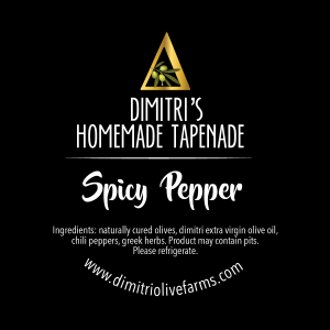 Dimitri's Spicy Pepper Infused Tapenade