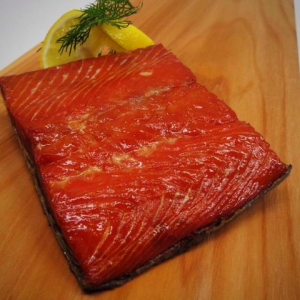 Traditional smoked sockeye