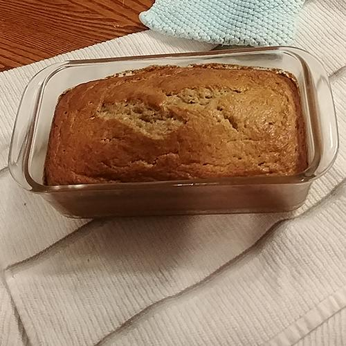 1 Loaf Whole Grain Banana Bread