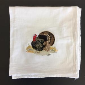 Embroidered Flour-Sack-Towel, Turkey