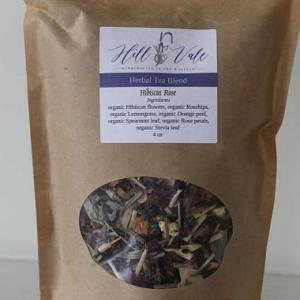 Organic Hibiscus Rose Herbal Tea