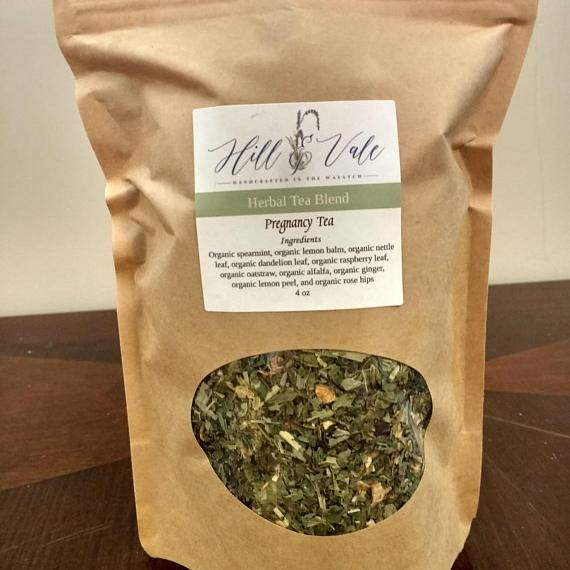 Organic Pregnancy Herbal Tea Blend