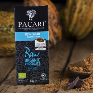 Pacari RAW 85% Chocolate Bar