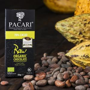 Pacari RAW 70% Chocolate Bar