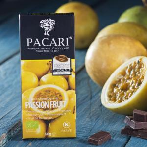 Pacari Passion Fruit Chocolate Bar