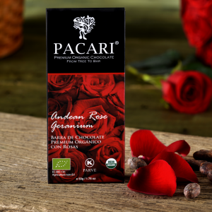 Pacari Andean Rose Chocolate Bar