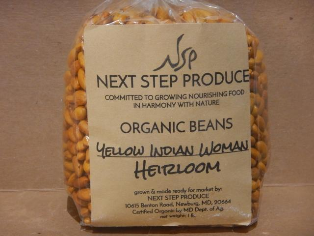 Beans-Yellow Indian Woman