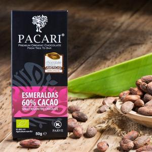 Pacari 60% Dark Chocolate Bar