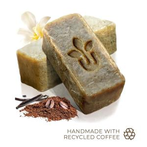 Handmade All Natural Coffee Exfoliating Soap - Free Shipping. Multiple product options available: 3