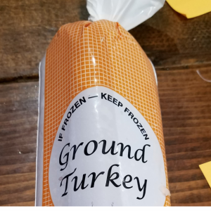 Turkey -- Ground White meat. Multiple product options available: 2