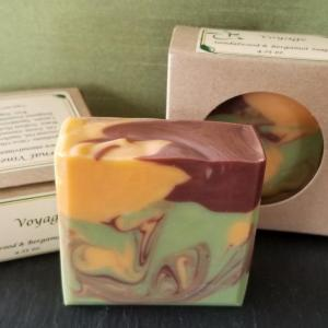 Voyage Sandalwood and Bergamot Soap