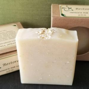 Restore oatmeal and almond milk Soap