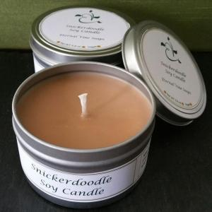 Snickerdoodle Candle Tin