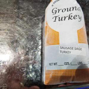 Sage turkey sausage