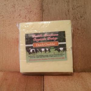 Dutch Meadows Mild Cheddar Cheese. Multiple product options available: 3