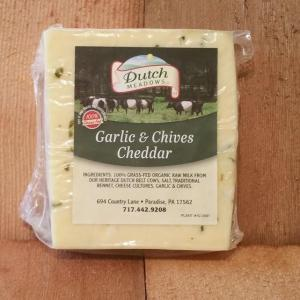 Dutch Meadows Garlic and Chive Cheese. Multiple product options available: 2