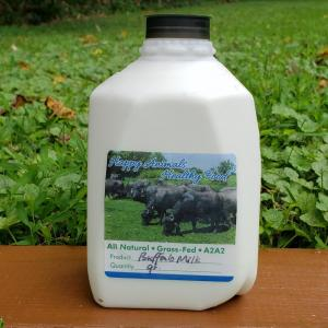 Water Buffalo Milk -- Raw (in plastic)