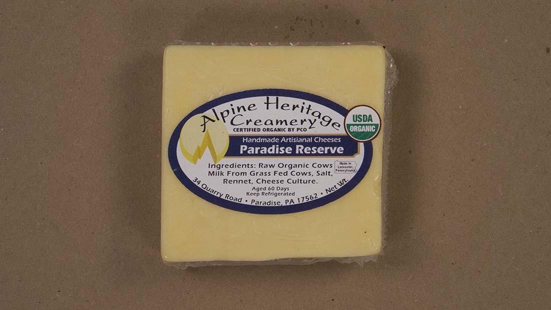 Paradise Reserve cheddar