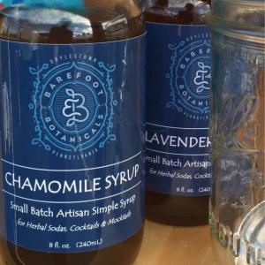 Chamomile Botanical Simple Syrup. Multiple product options available: 2