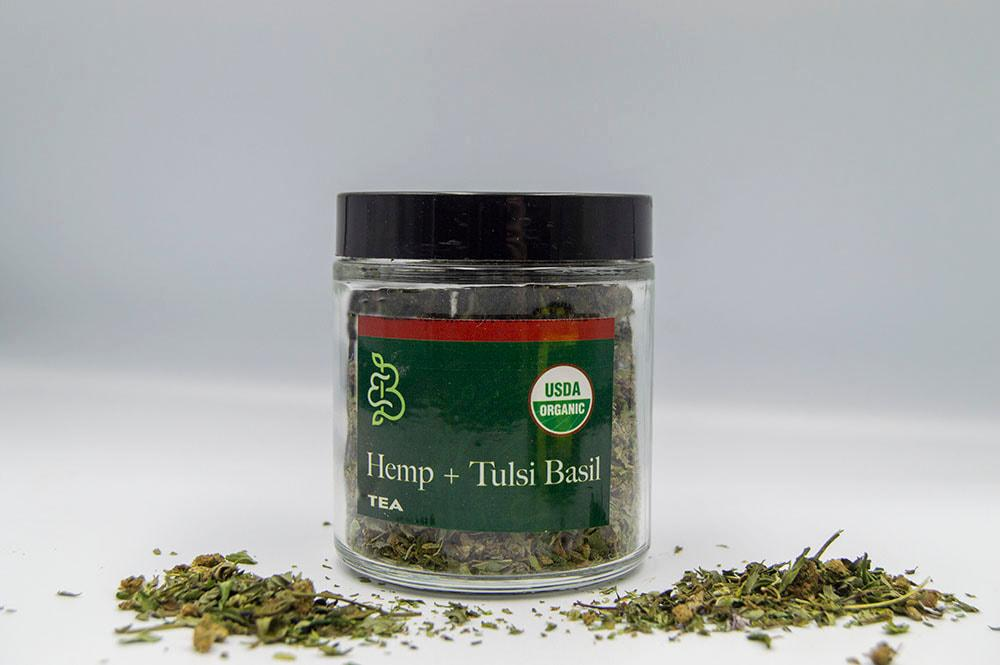 Hemp and Tulsi Basil - Tea Blend