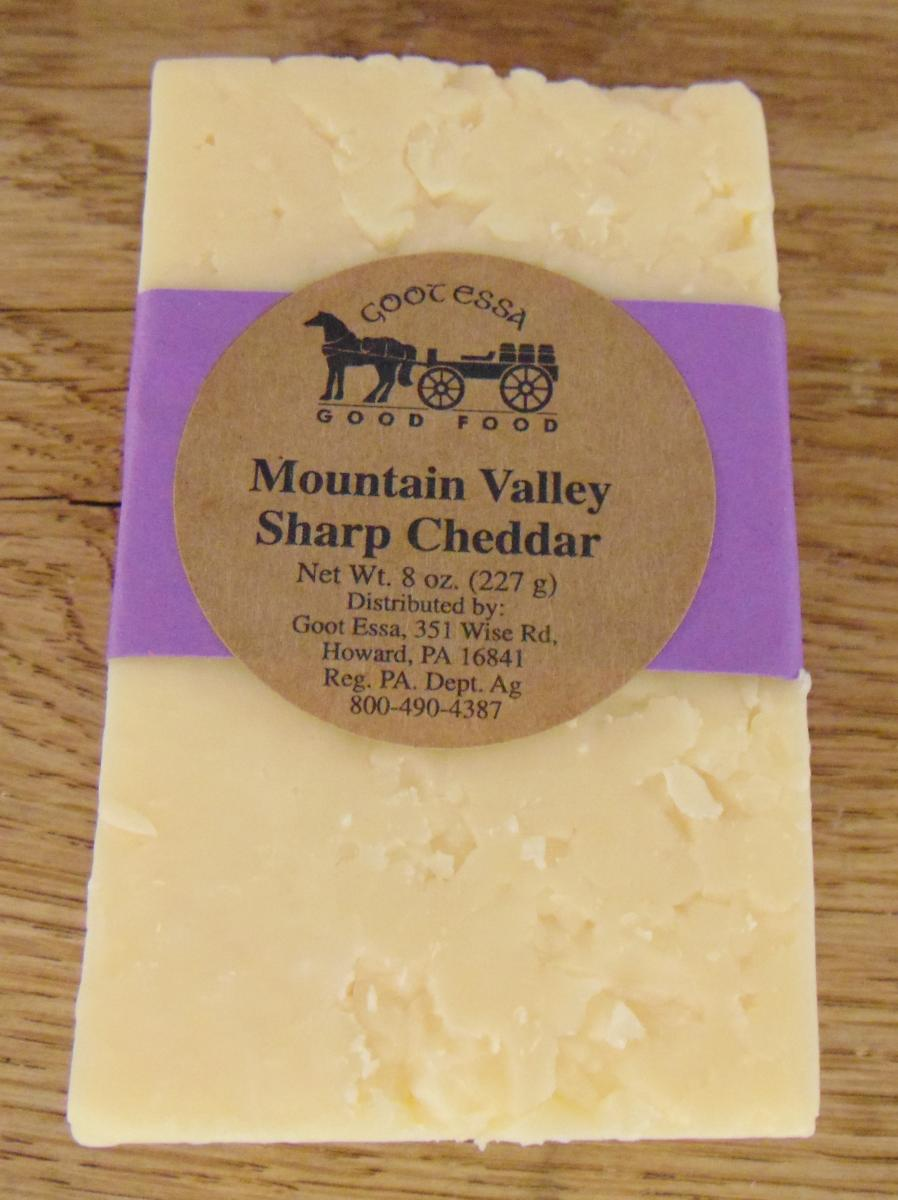 Mountain Valley Sharp cheese