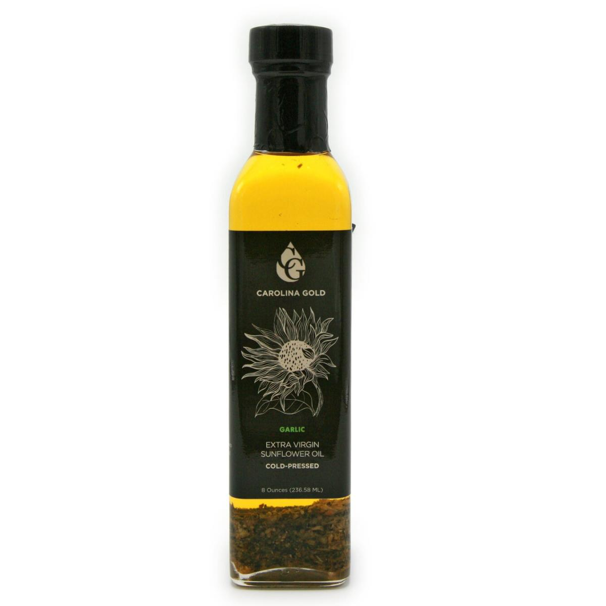 Garlic Infused Extra Virgin Sunflower Oil