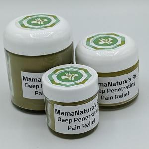 Mama Natures Rx Deep Penetrating Pain Relief Salve. Multiple product options available: 4