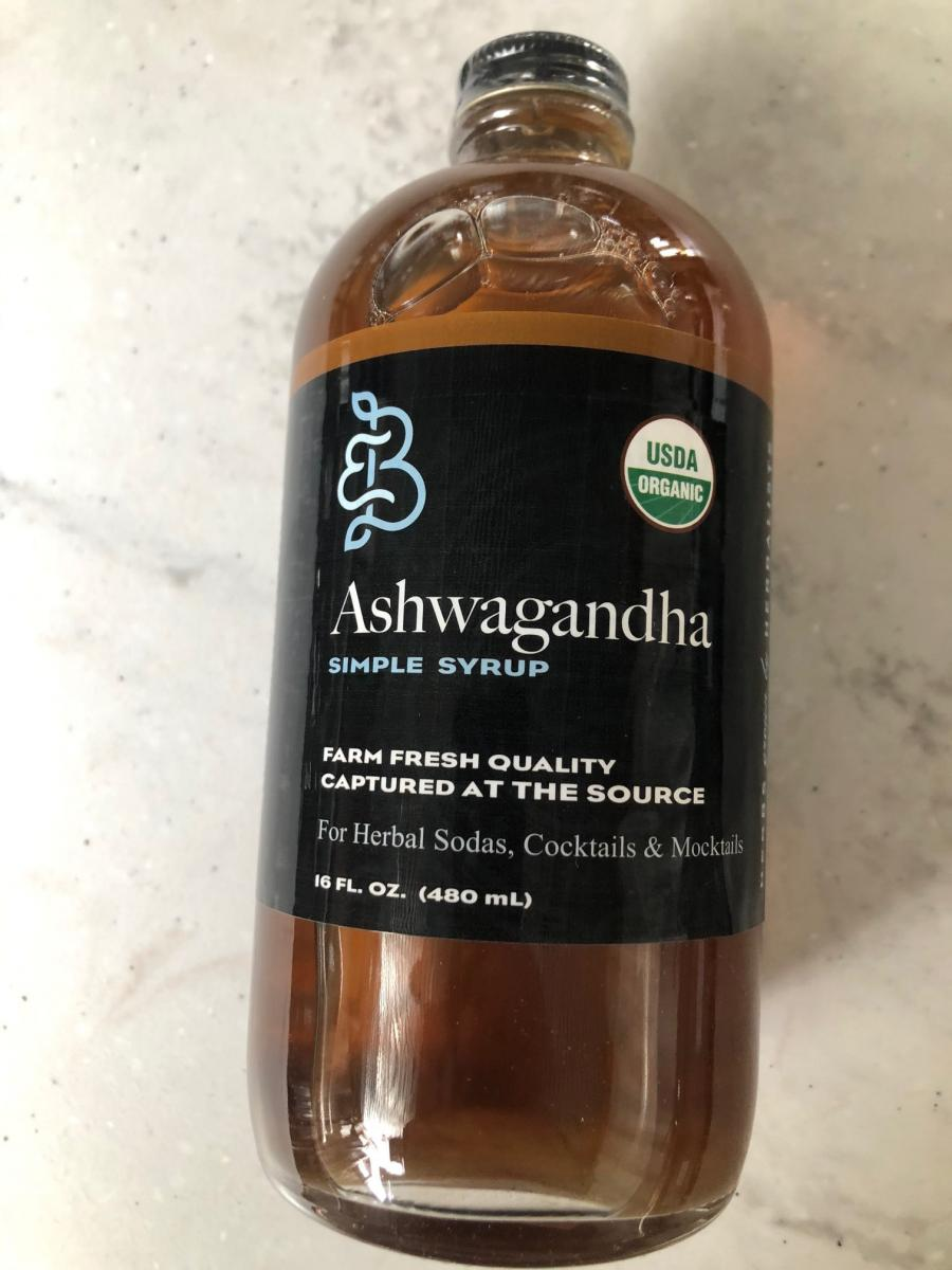 Ashwagandha Botanical Simple Syrup